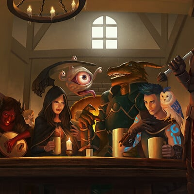 Simon zhong bar scene