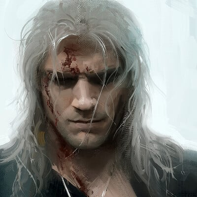 Henry Cavill as Witcher - fanart