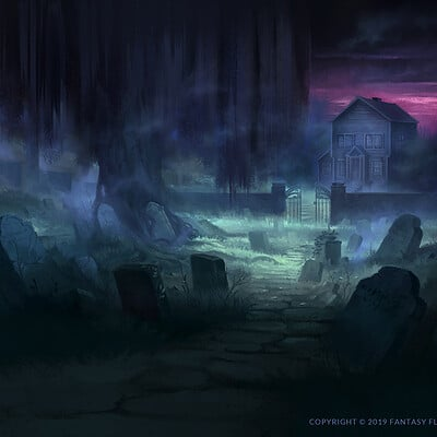 Nele diel old burying grounds
