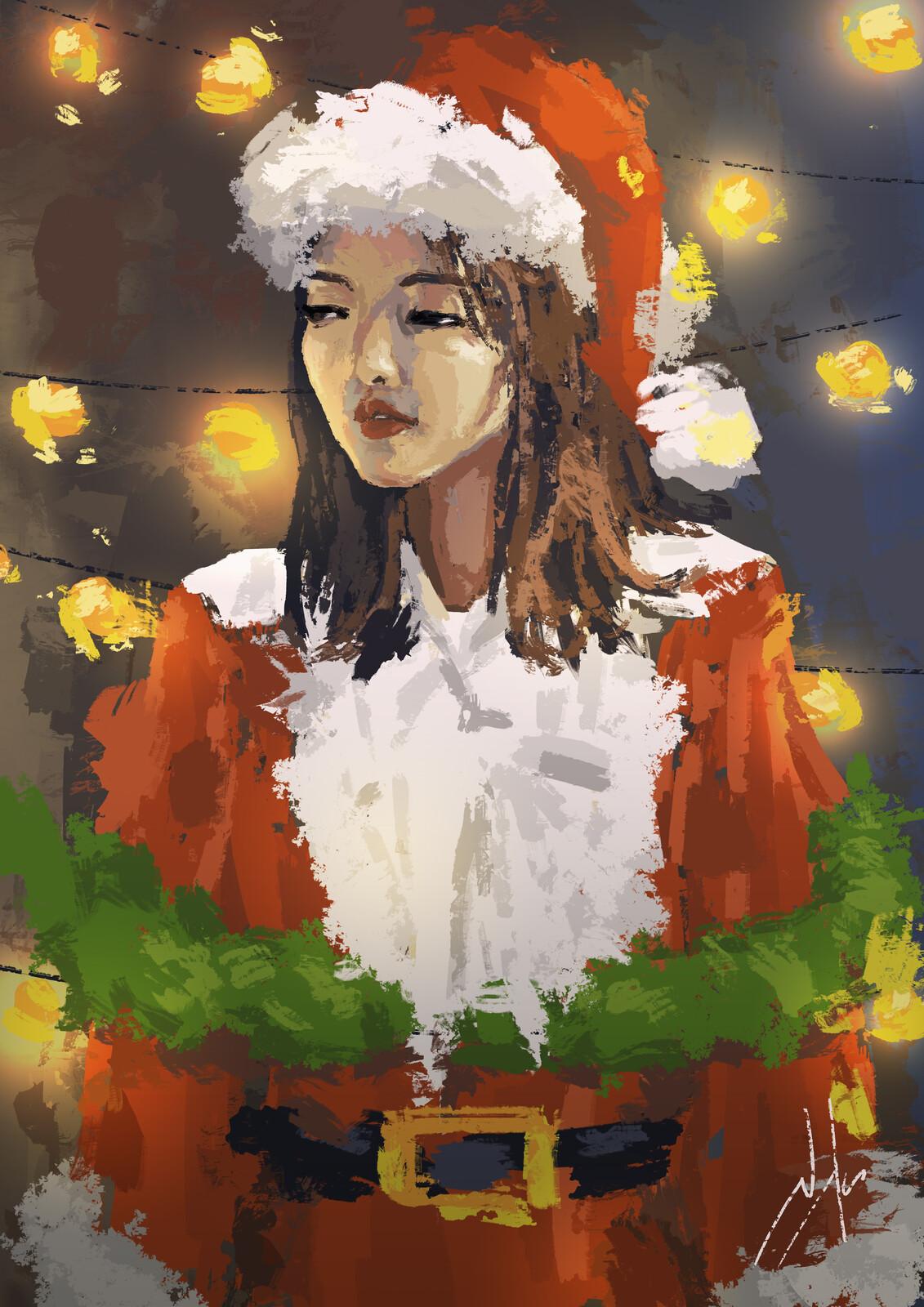 Christmas Girl...