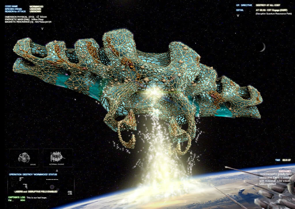 Alien 'Battlecruiser' Challenge