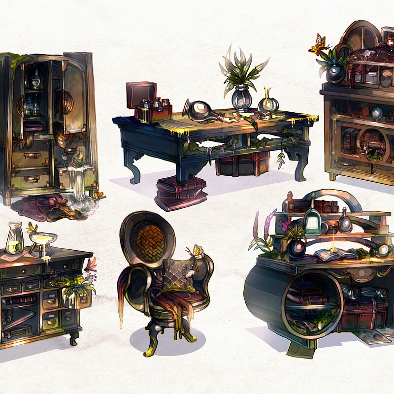 THE DAWN MIRE : Furniture Collection