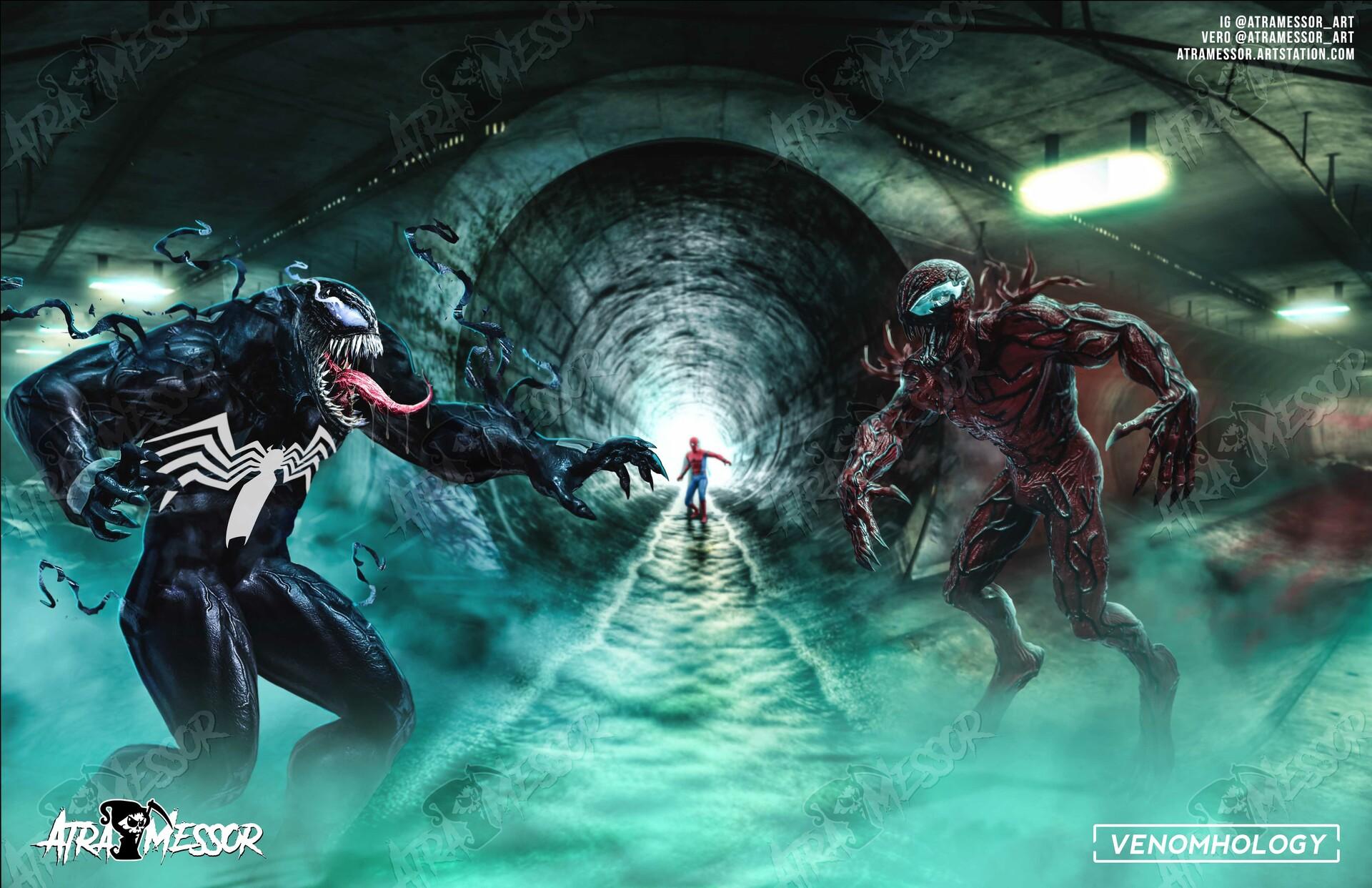 Venom vs Carnage (collab with Venomhology)