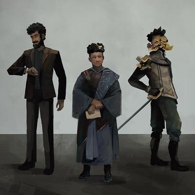 Leo de moura trio