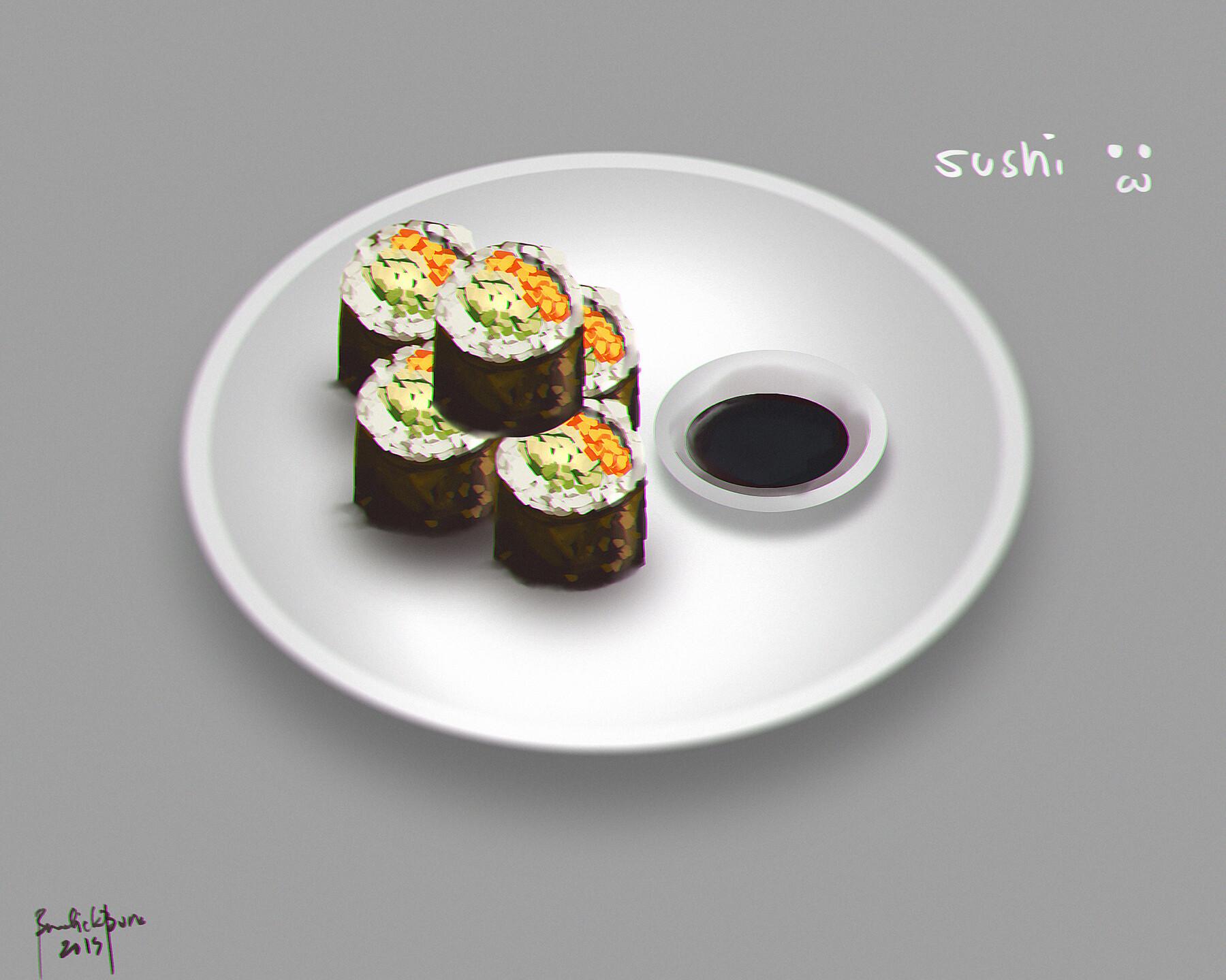 Speedpaint Sushi