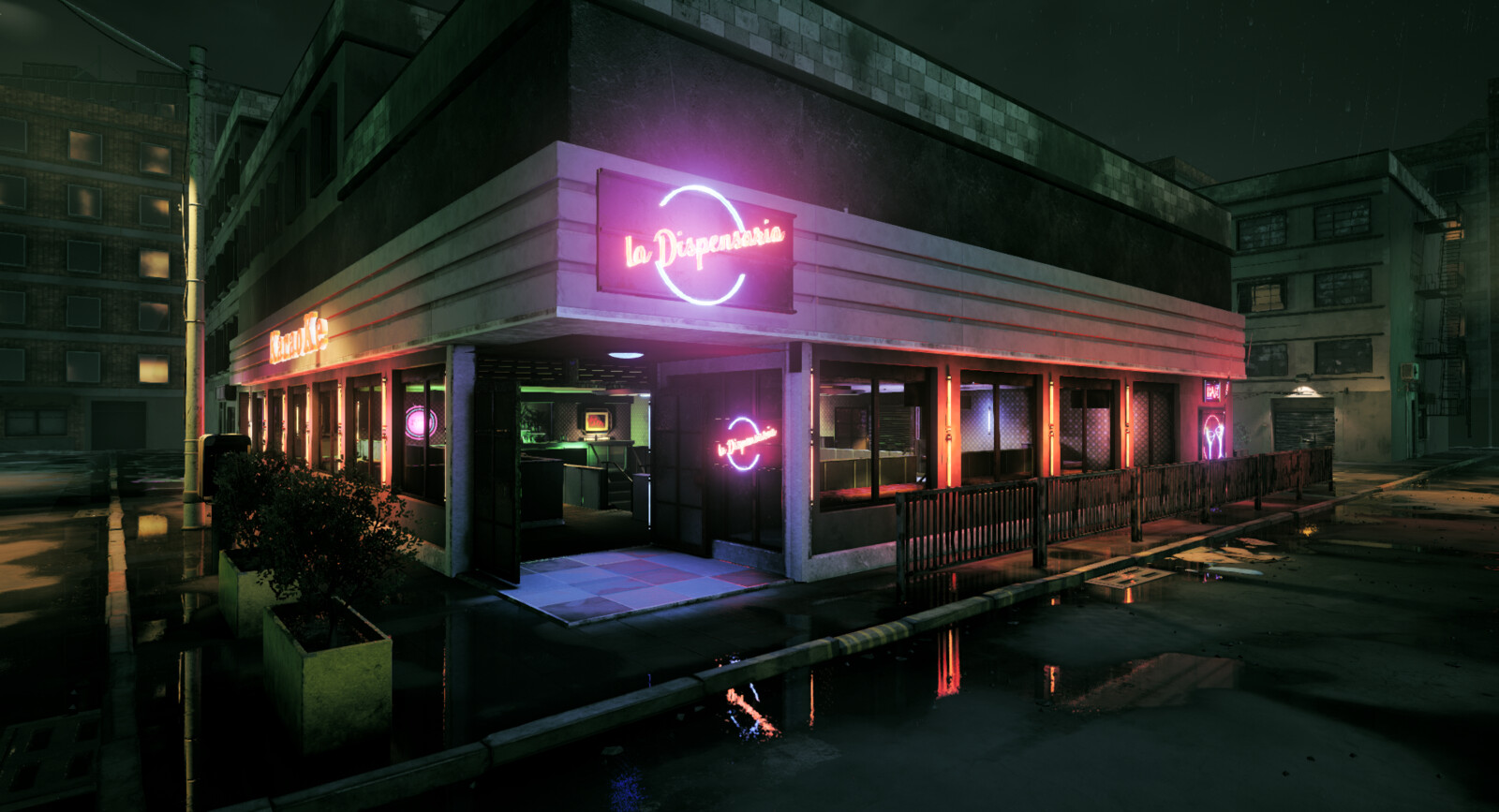 La Dispensaria Night Club from the Narcos TV show