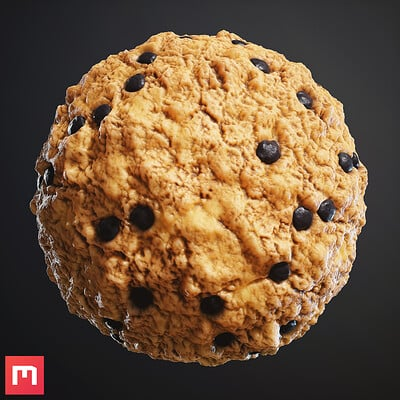 [Quixel Mixer] Cookie Material