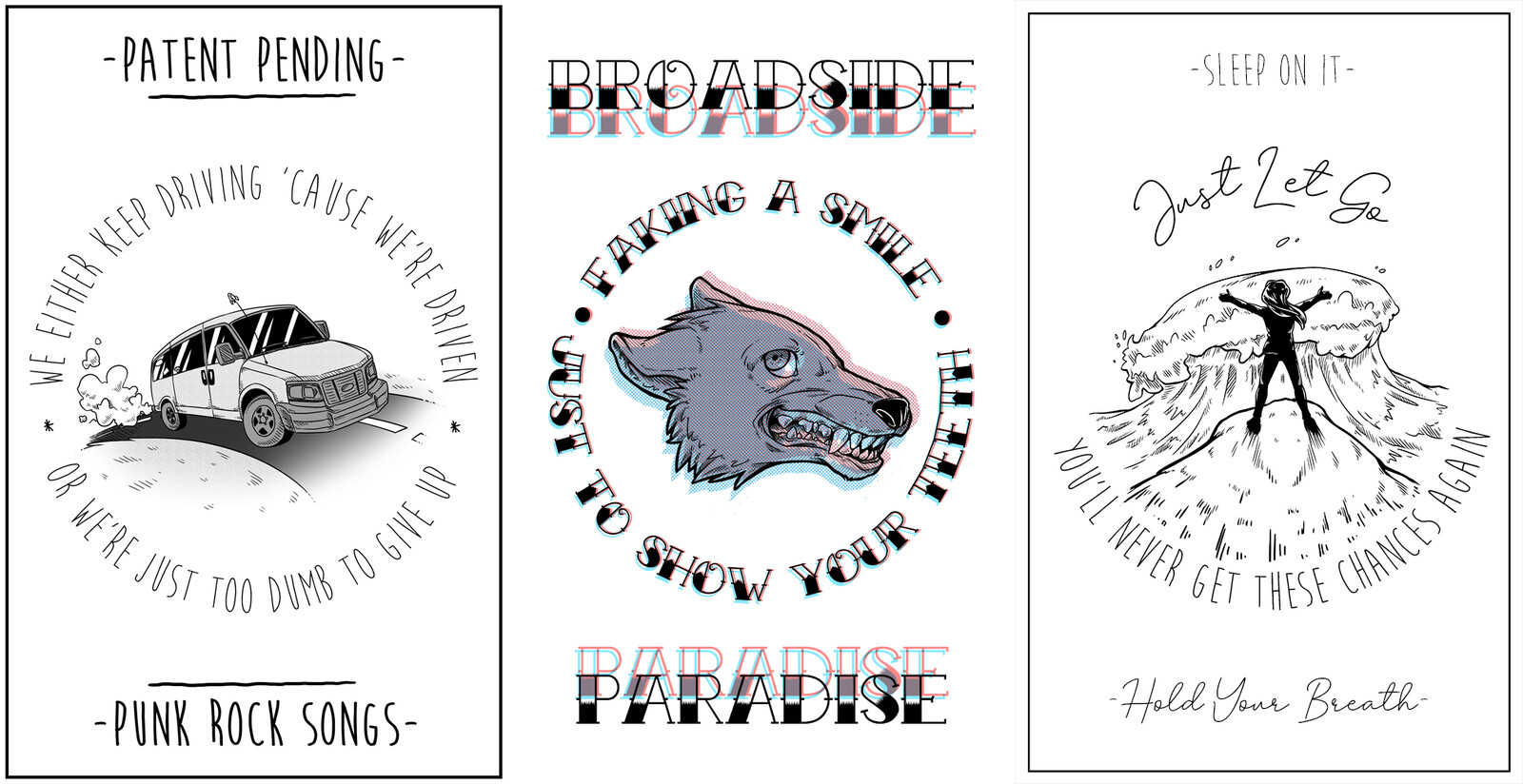 Poster Designs - Patent Pending, Broadside, Sleep On It