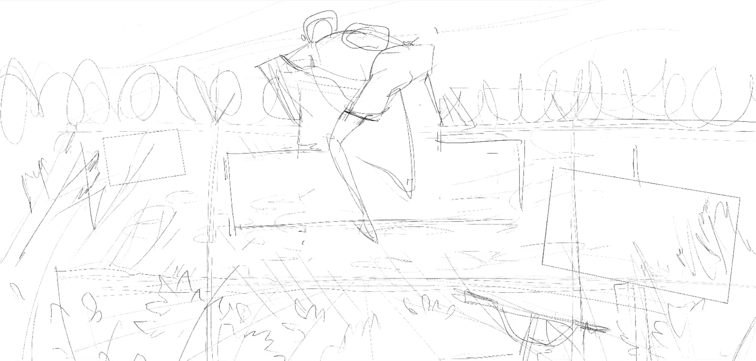 Fenced In  -  Second Draft Line-work