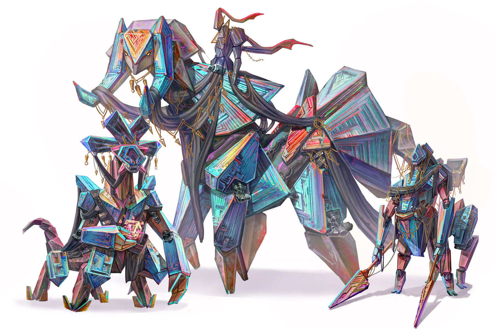 Bismuth Faction Characters