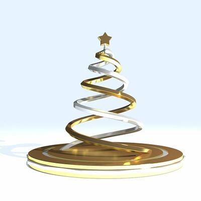 Sandeep choudhary christmas tree 3d model max obj 3ds stl