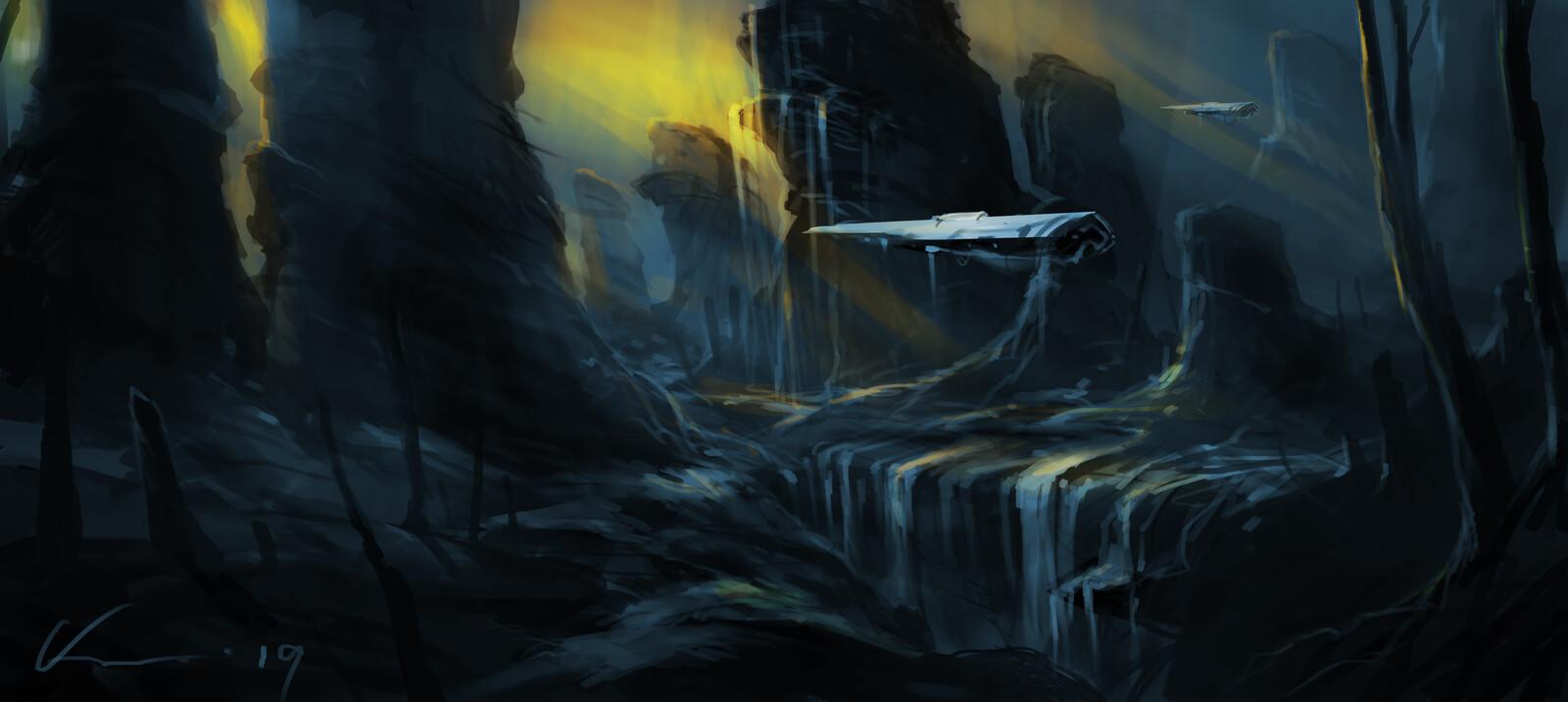 game environment  concept  3