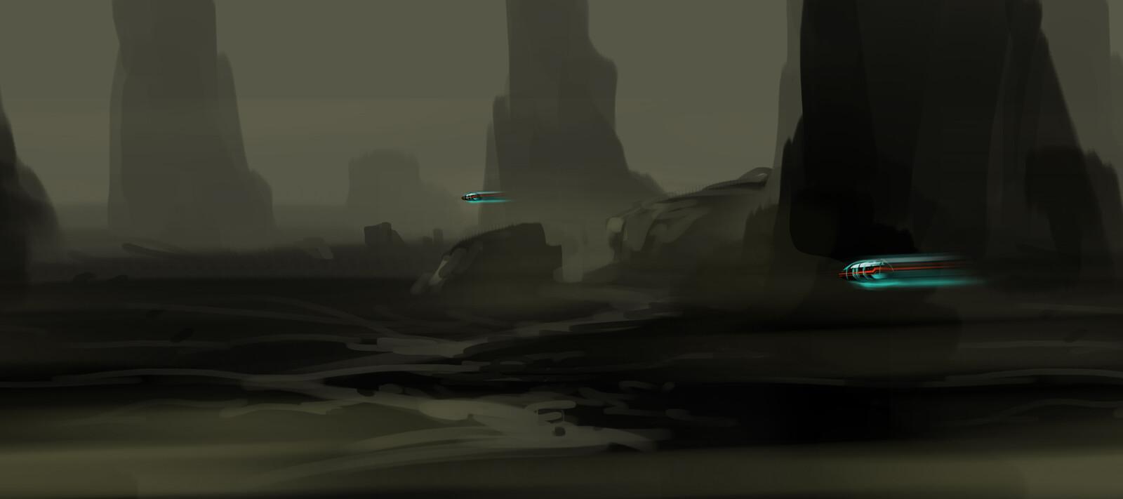 game environment  concept  4