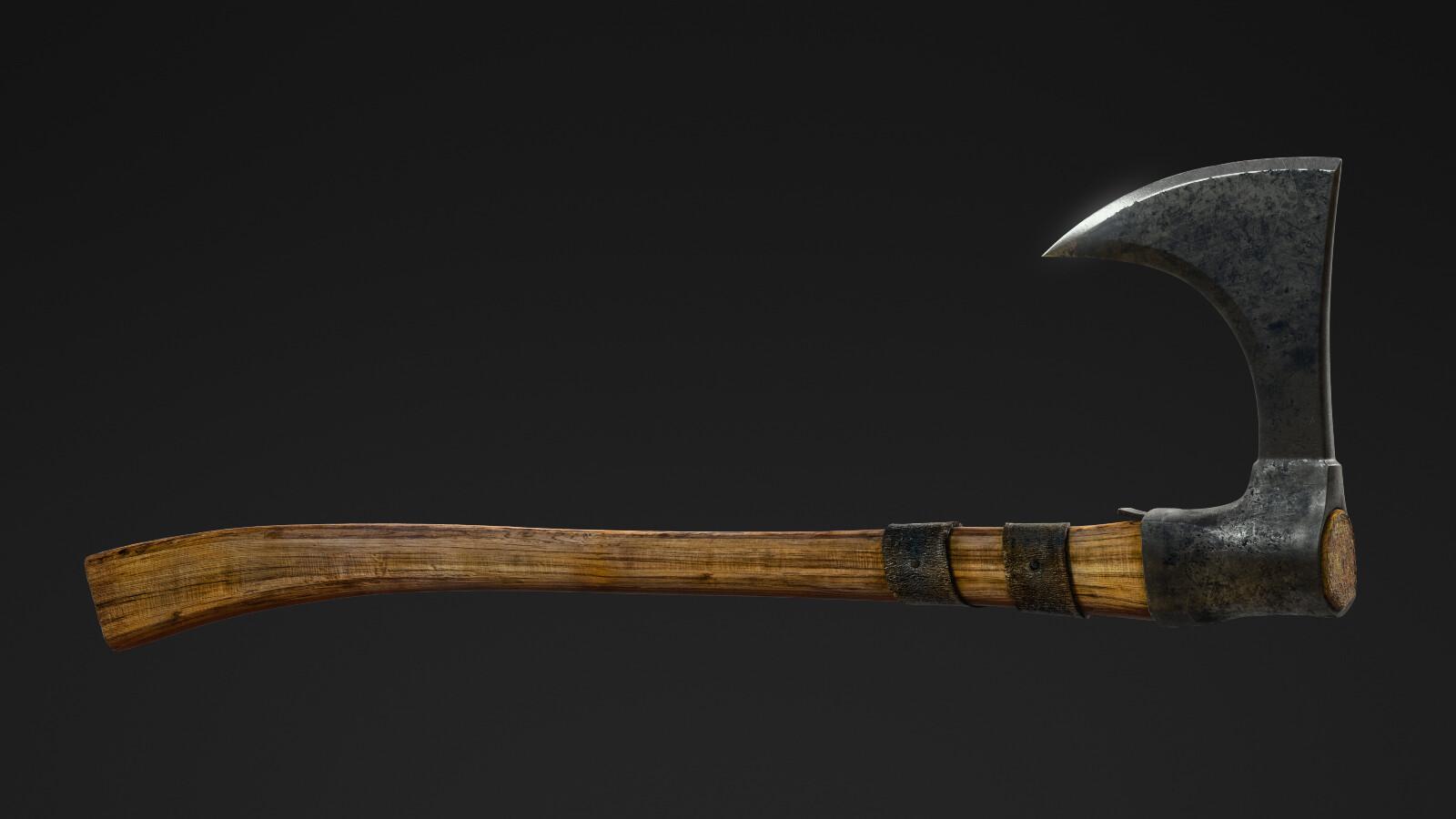 General Prop Medieval Lumberjack Axe (HD)