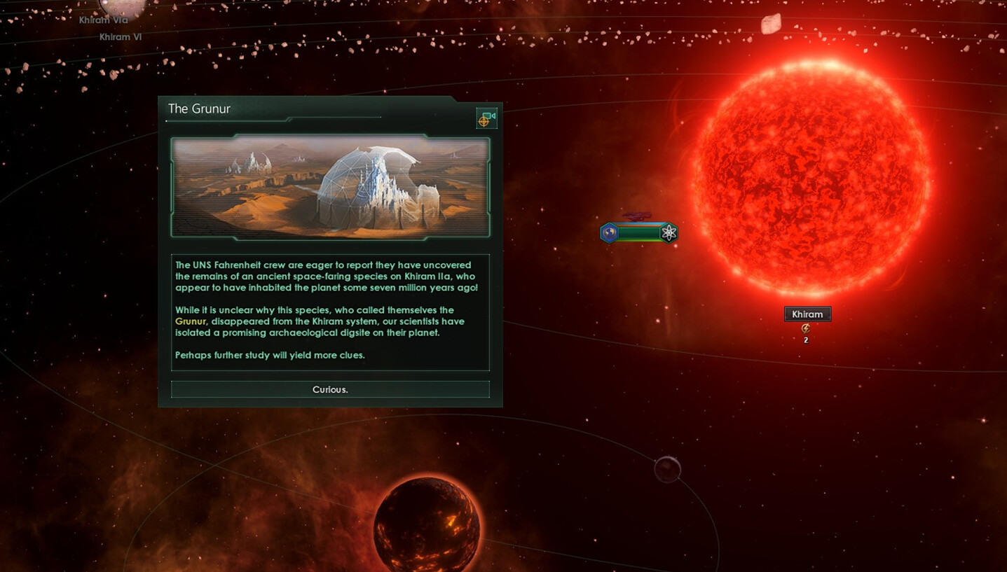 Stellaris: Antient Relics DLC