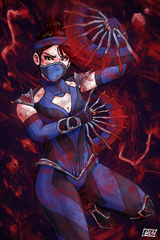 Artstation Kitana Mortal Kombat 11 Jakob Sung