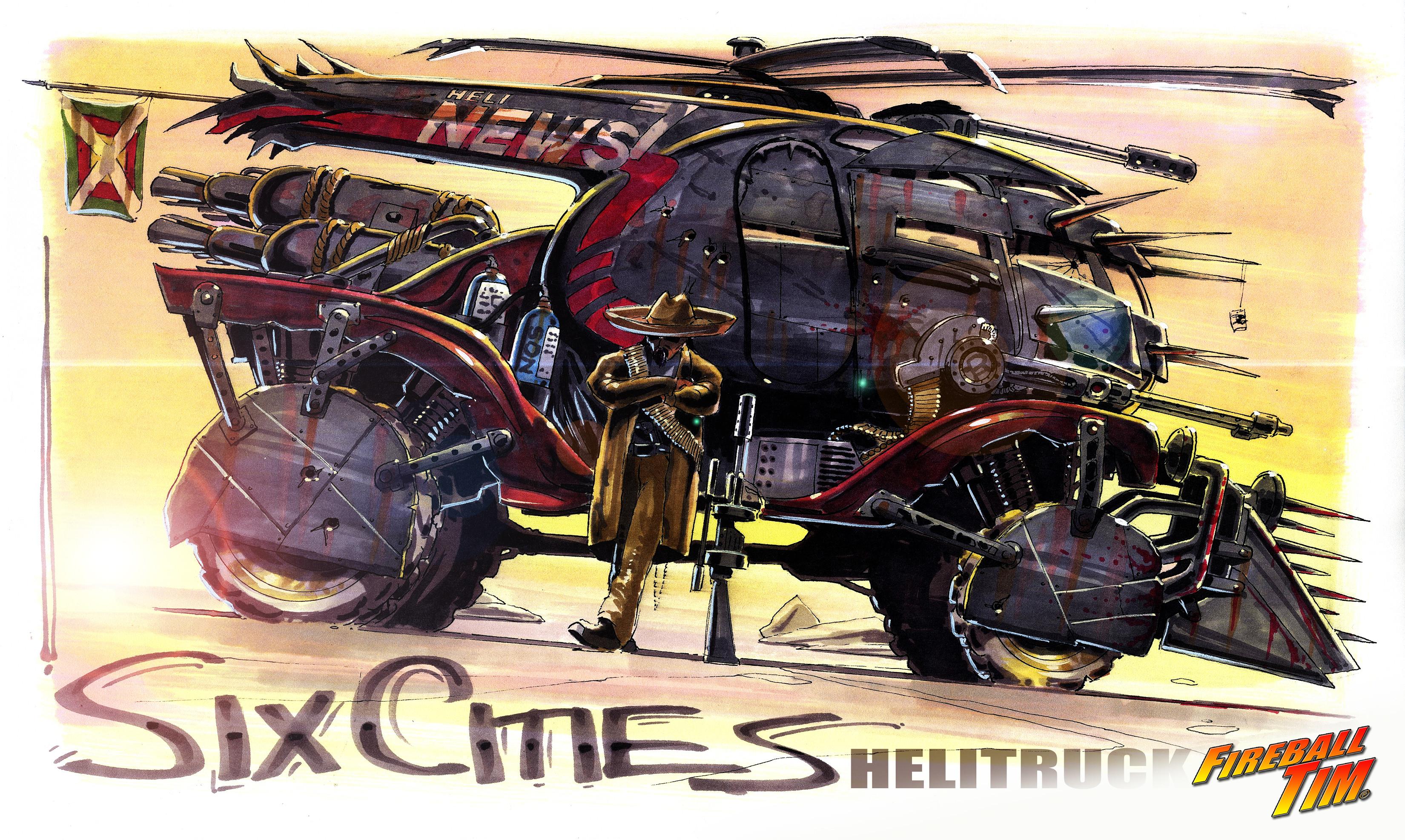SIX CITIES