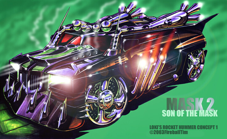 SON OF THE MASK - Loki's Hummer