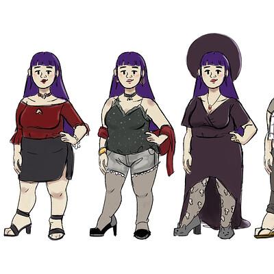 Sanjana & Yue Outfit Explorations
