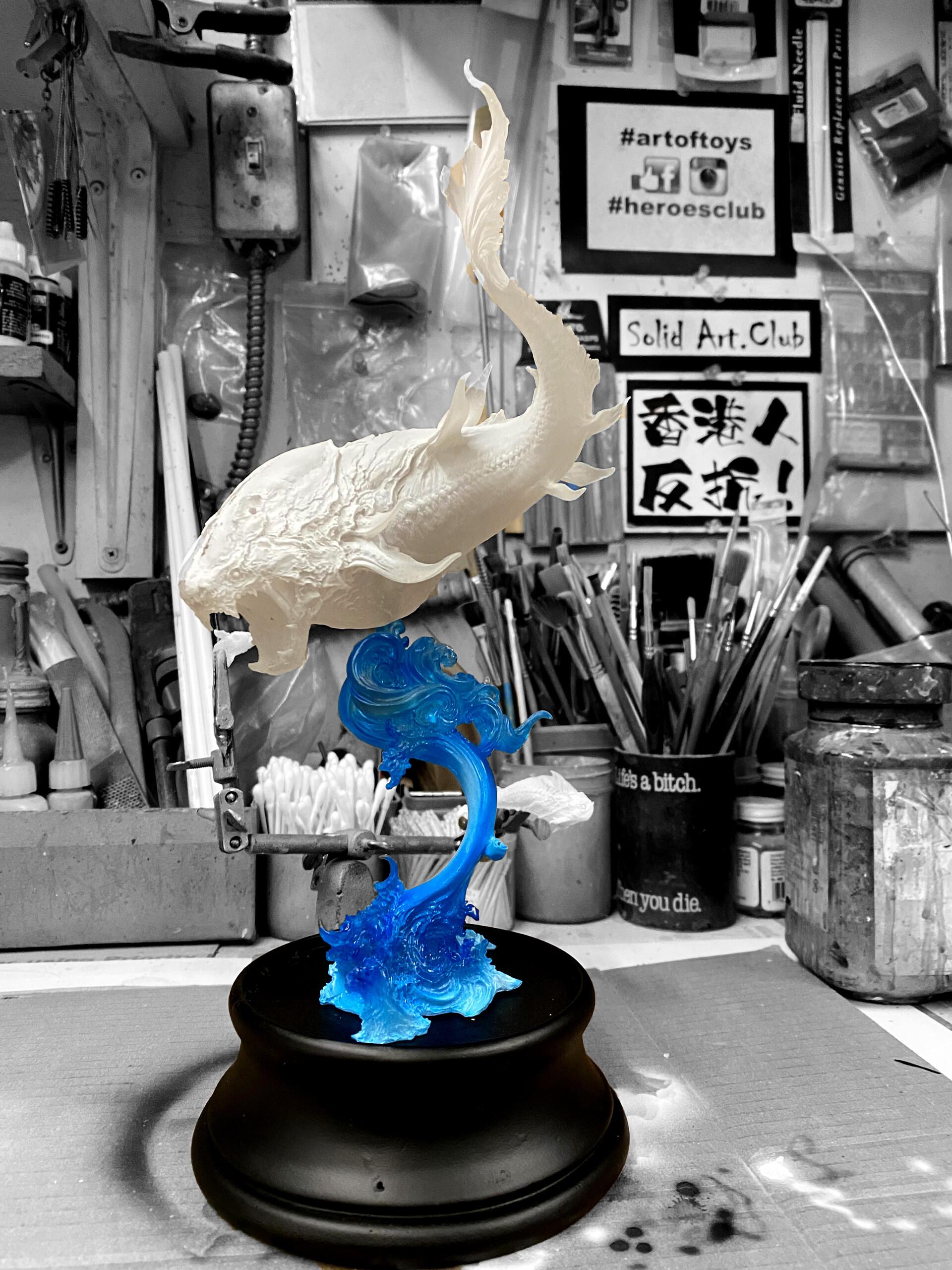 丙申 Bing-Shen Art Statue
