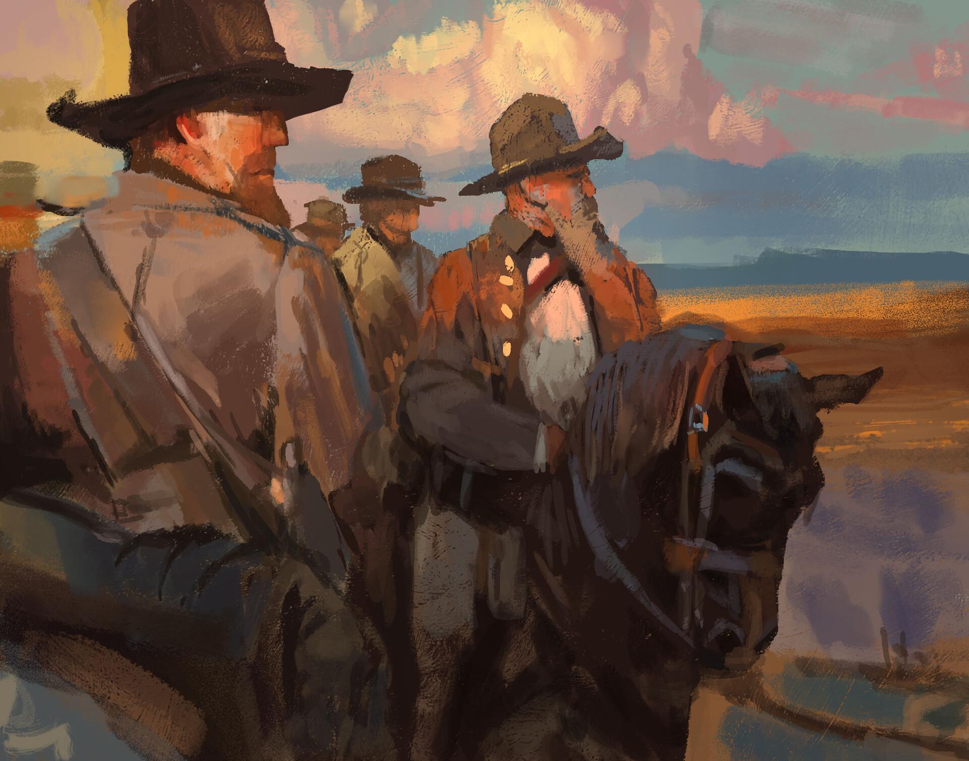 Paintstudy: Jamie Jones 03 // Study / Colors / Brushes (120) min