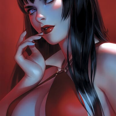 Warren louw vampirella 7 by warren louw
