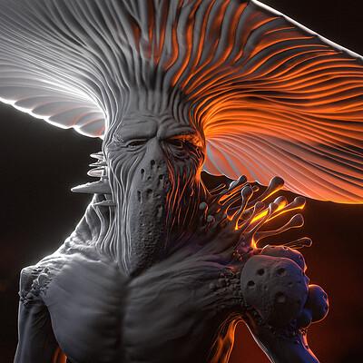 D&D Myconid speed sculpt