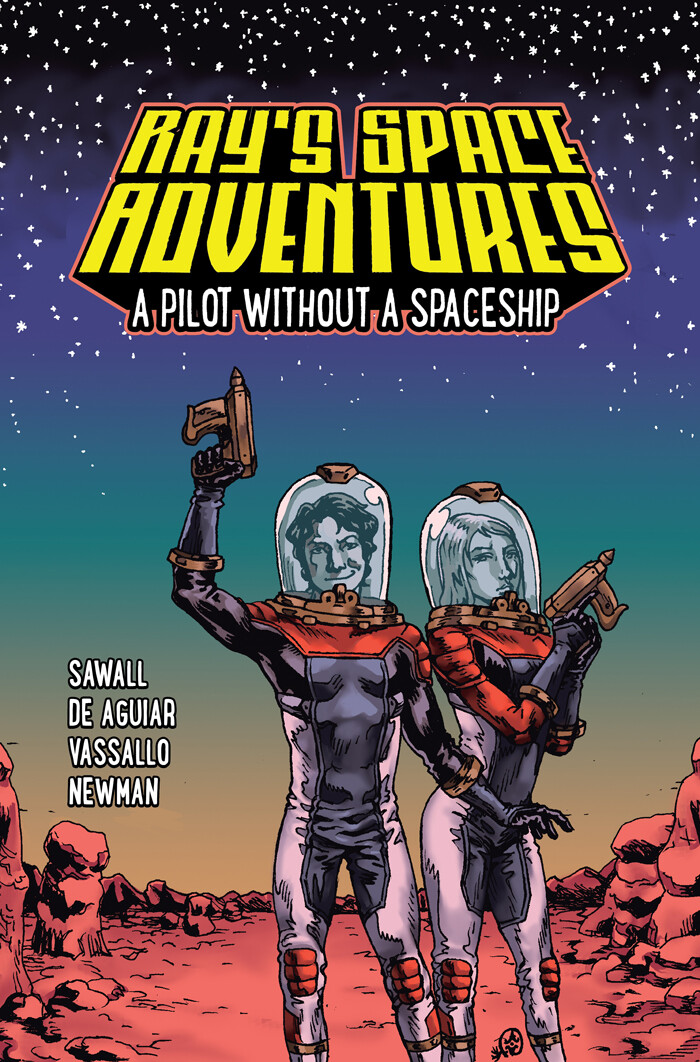 Ray's Space Adventures #1 (Logo Design and Lettering)