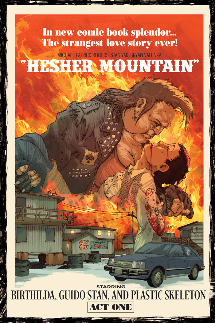 Hesher Mountain (Cover Design)