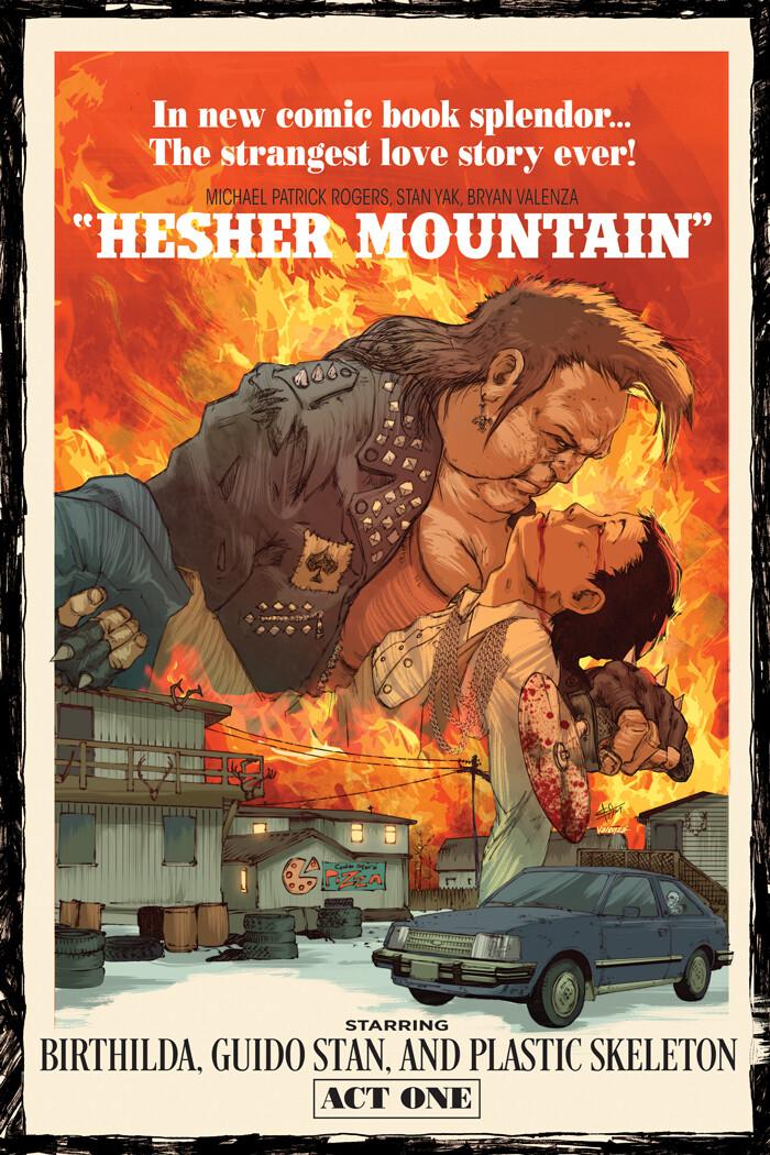 Hesher Mountain (Cover Design)