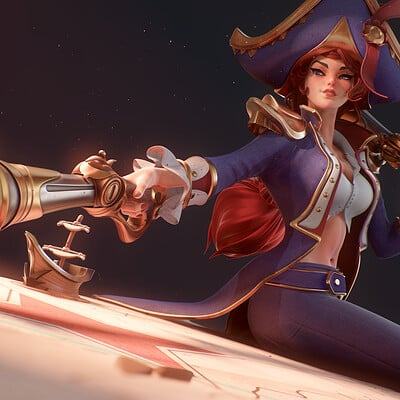 Miss Fortune Waterloo - real time