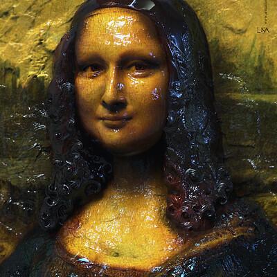 Surajit sen lisa digital sculpture surajitsen dec2019a