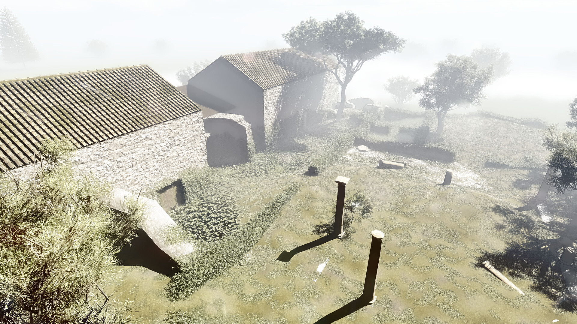 Phase 2 - Ruin of the Roman Villa
