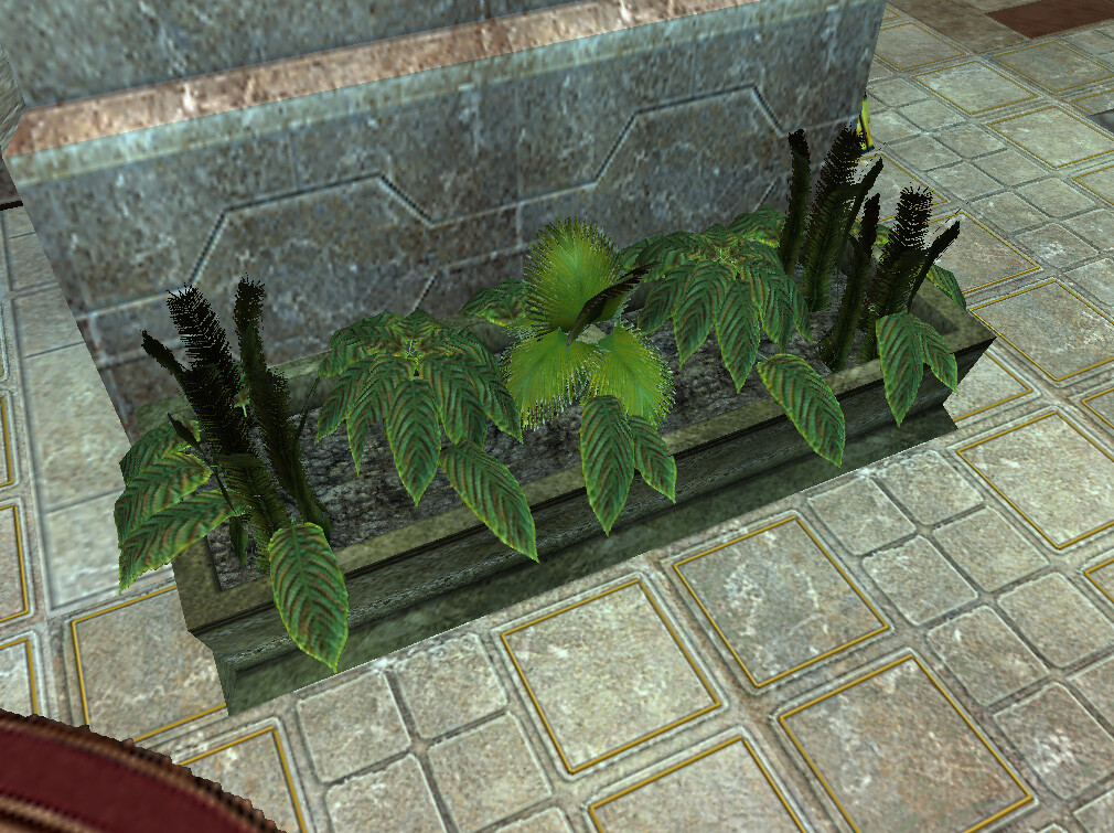 I modeled and textured these plant assets for Marvel Ultimate Alliance 2 for the Nintendo Wii and PS2. © 2009 Marvel / Activision / nSpace