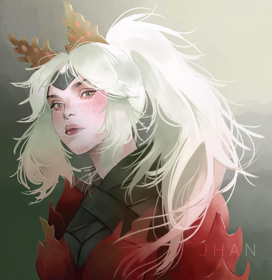 Artstation Monster Hunter World Character Tan Jie Han