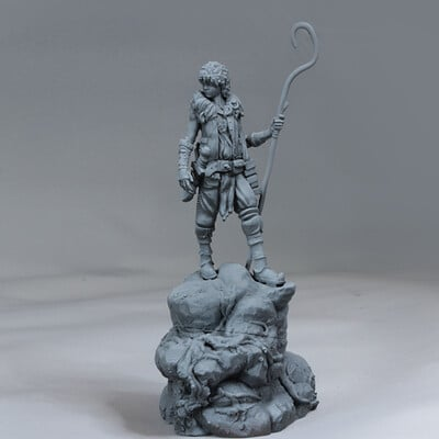 Boy Explorer 3d Print