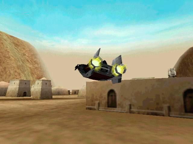 In-Game Mos Eisley Screenshot