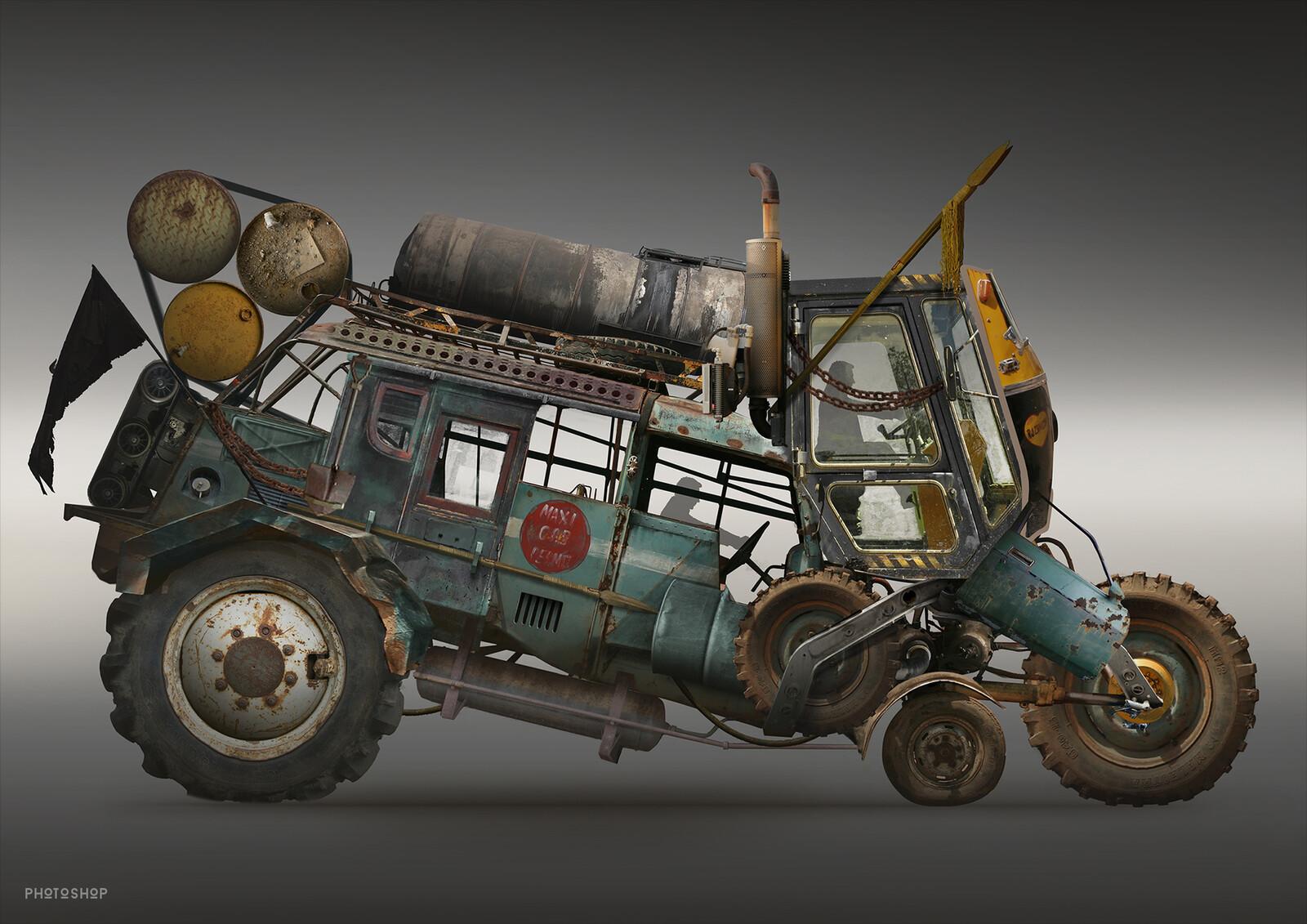 Diesel Punk Vehicles