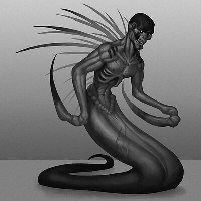 Travis lacey monster creature concept art travis lacey 2020