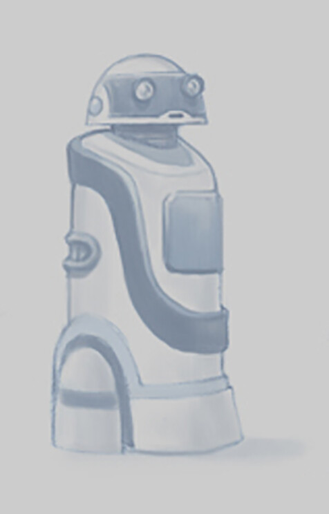 Robot Citizen concept by Jim Moore.