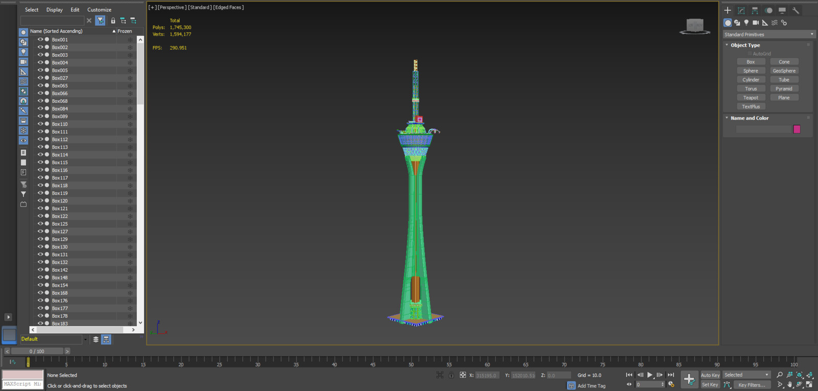 3D assets within 3dsMax