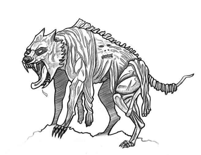 Christopher kallini christopher kallini werewolf lineart