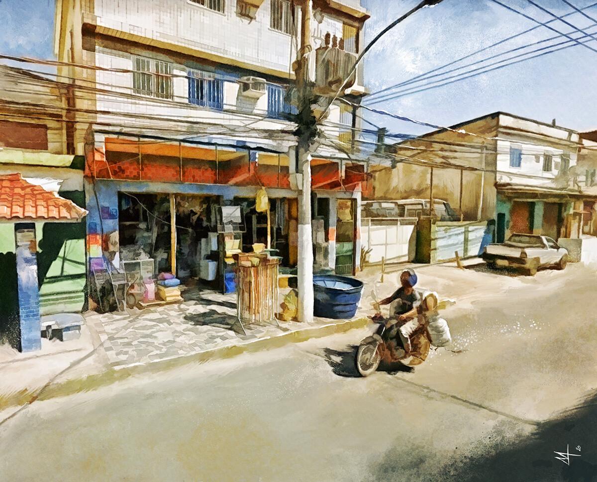 Rio De Janeiro Street