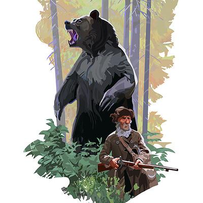 Hugo puzzuoli bear small