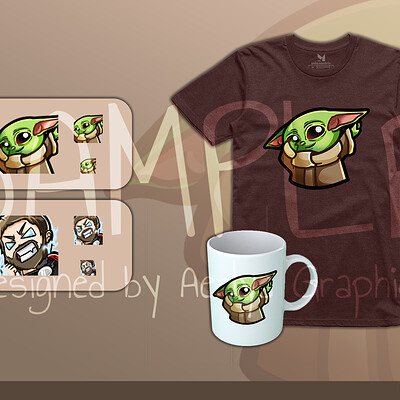 Aerlya graphics sample emotesmerch