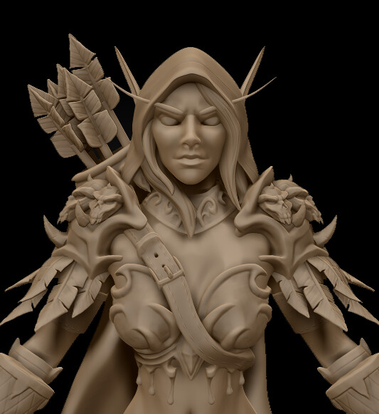 Sylvanas Work in Progress
