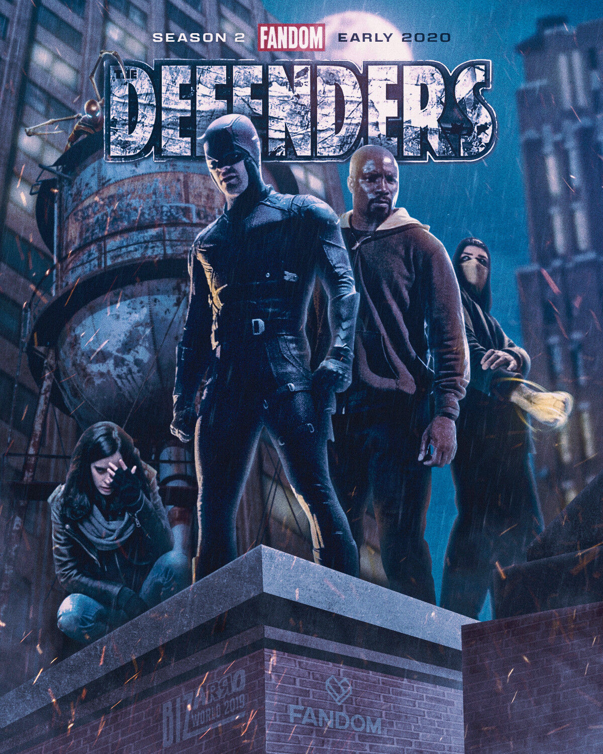 The Defenders with Spidey