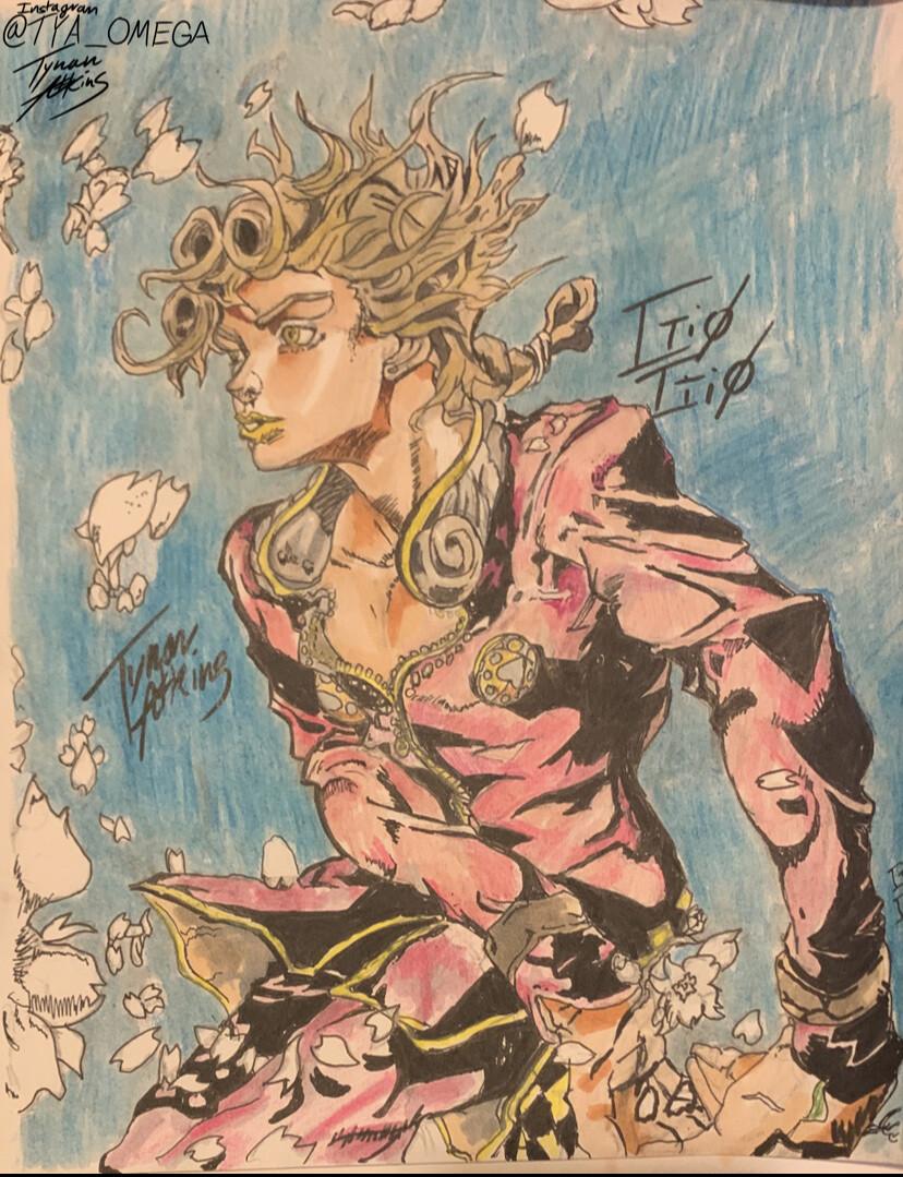 ArtStation   Reimaged Hirohiko Araki, tynan atkins