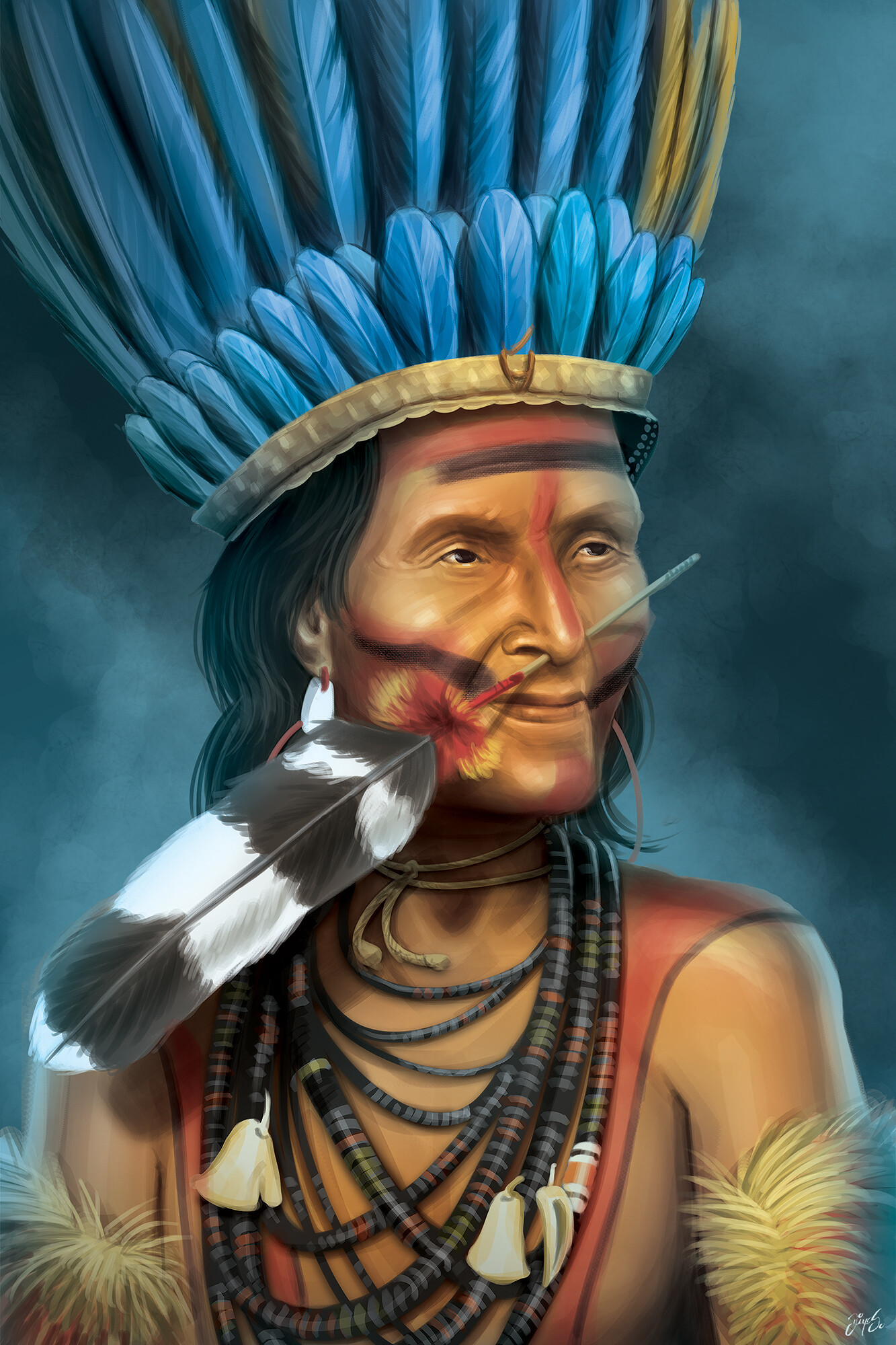 Game character - Cacique