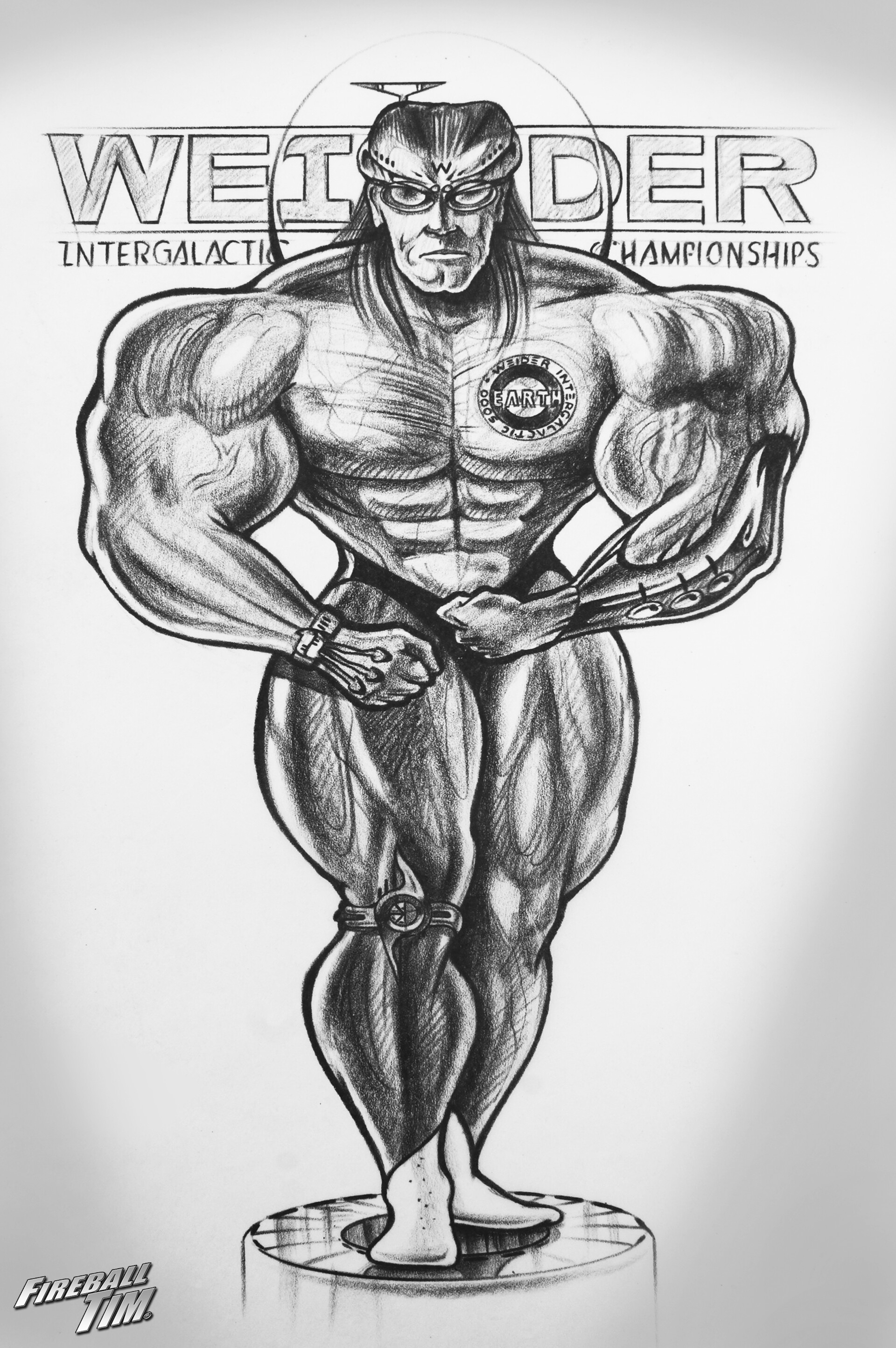 MUSCLE & FITNESS- Get my Coloring Books on Amazon - https://tinyurl.com/fireballcolor